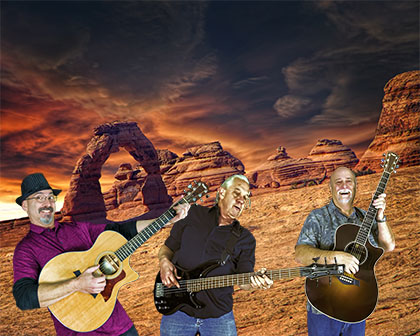 Call Us A Cab under a burning sky