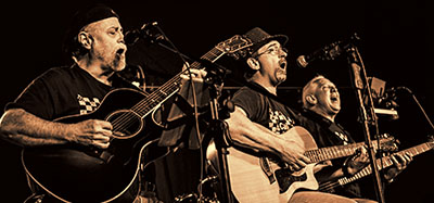 Call Us A Cab On Stage