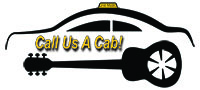 White Call Us A Cab logo